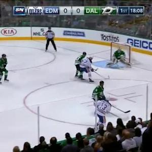 Kari Lehtonen Save on Steven Pinizzotto (01:57/1st)