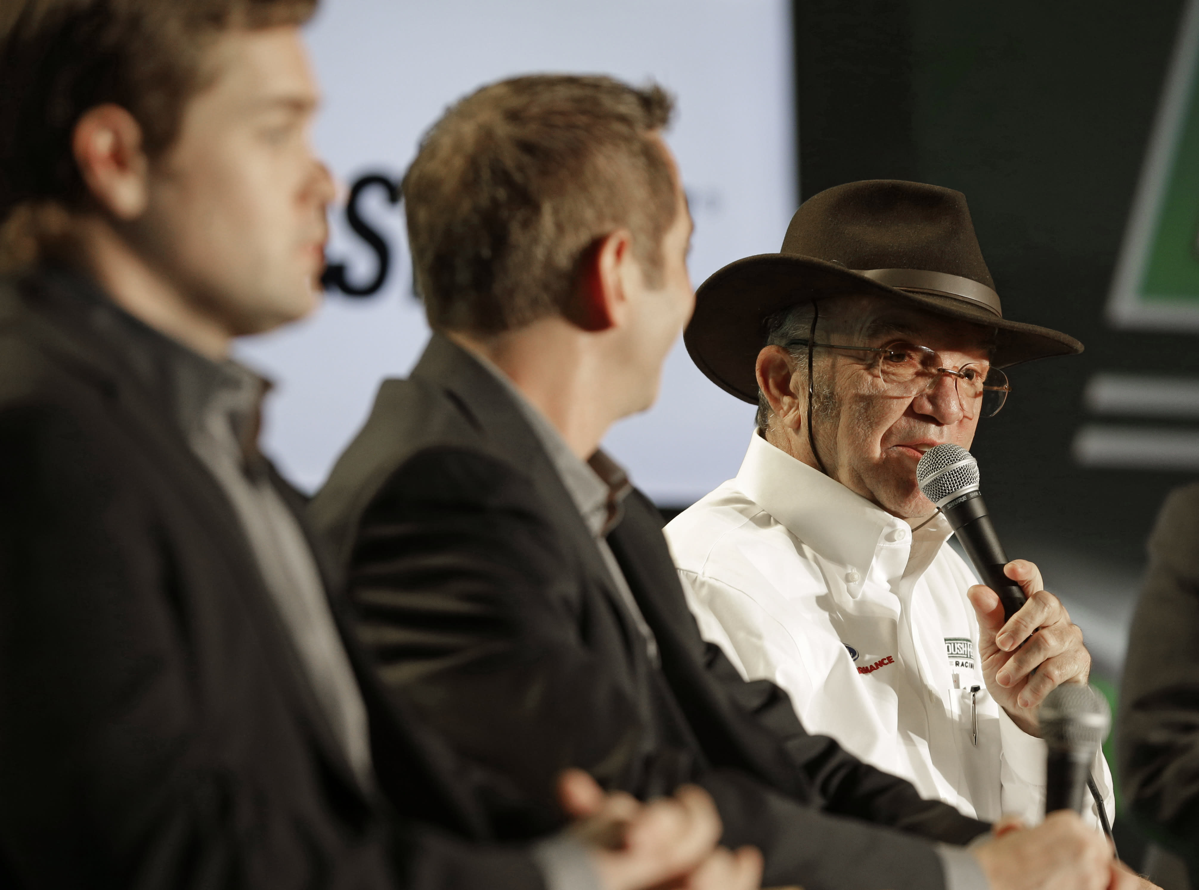 Media Tour Day 3: Roush vows to improve in 2015
