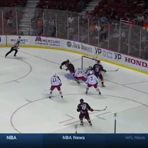 Corey Perry Goal on Sergei Bobrovsky (01:28/1st)