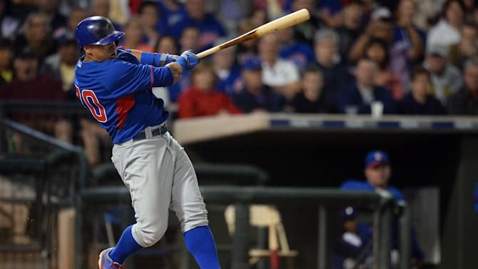 MLB: Spring Training-Chicago Cubs at Texas Rangers