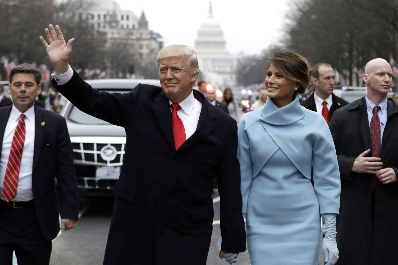 Photos: President Trump's inaugural parade attracted relatively few people