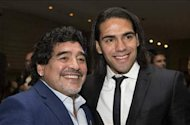 Falcao thanks team-mates after being named Globe Soccer's best player of 2012