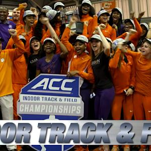 Clemson Wins 2015 ACC Women's Indoor Track & Field Championship