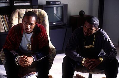 Cam'Ron and Mekhi Phifer in Miramax's Paid In Full