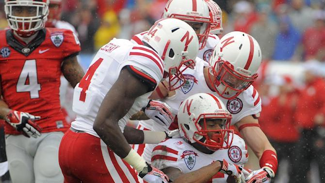 Nebraska beats No. 23 Georgia 24-19 in Gator Bowl