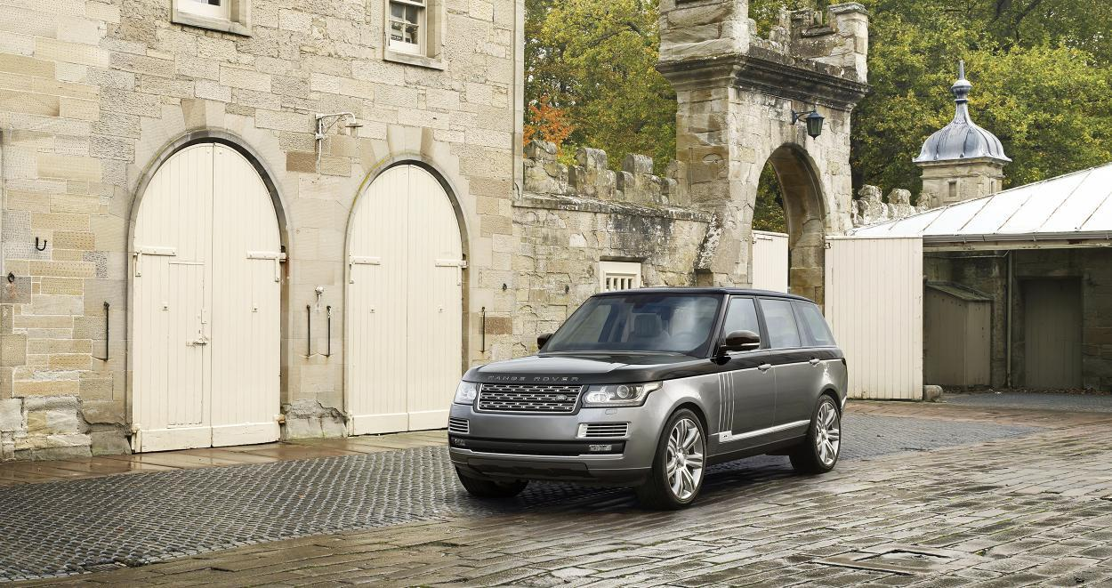 New Range Rover sets new standards in luxury