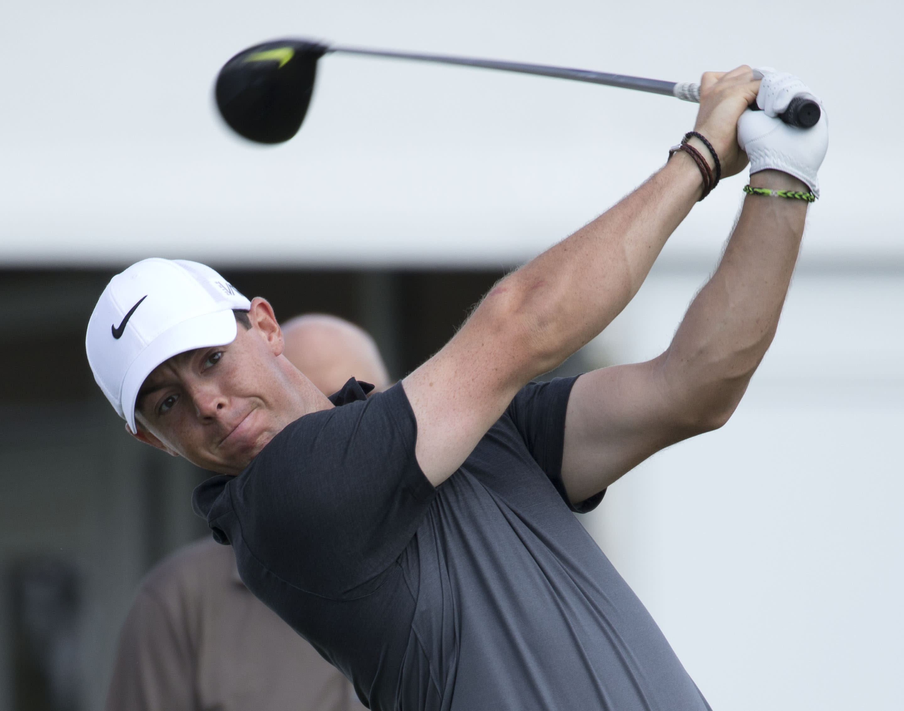Masters buildup begins for Rory McIlroy at Cadillac