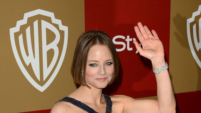 14th Annual Warner Bros. And InStyle Golden Globe Awards After Party - Arrivals: Jodie Foster