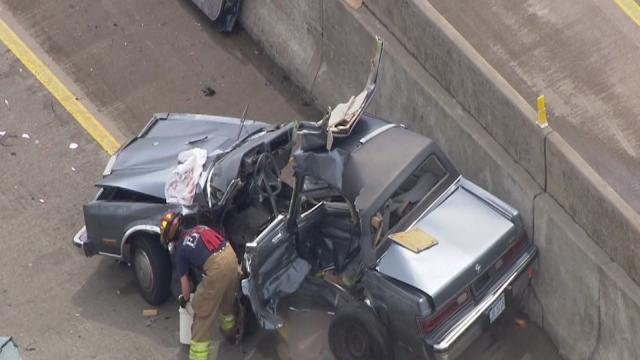 Serious accident closes I-94