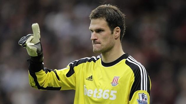 Asmir Begovic was a target for Manchester City