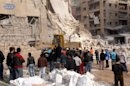 Aleppo blast, car bombs cap bloody Syria week