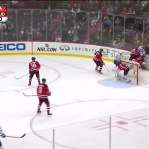 Cory Schneider Save on Mike Santorelli (10:21/2nd)