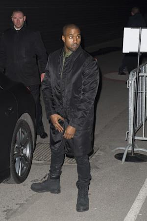 Singer Kanye West arrives at Givenchy's ready-to-wear …