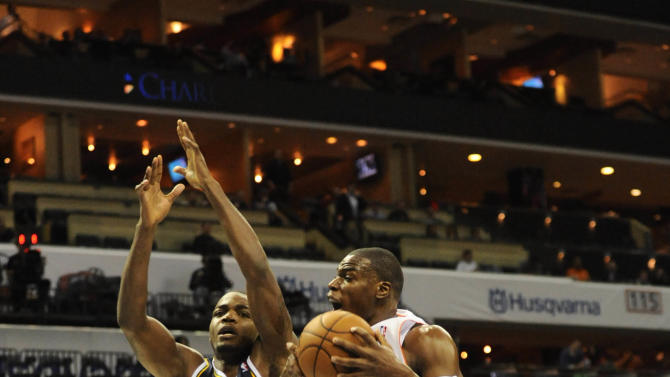 NBA: New Utah Jazz at Charlotte Bobcats