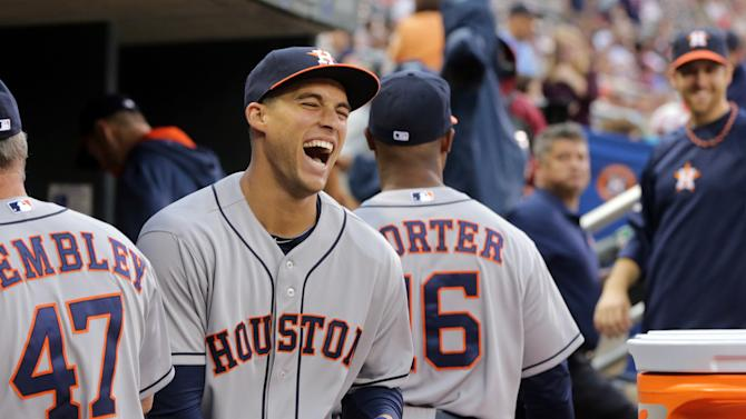 Keuchel, Springer lead Astros over Twins 5-4