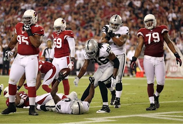 Oakland Raiders v Arizona Cardinals