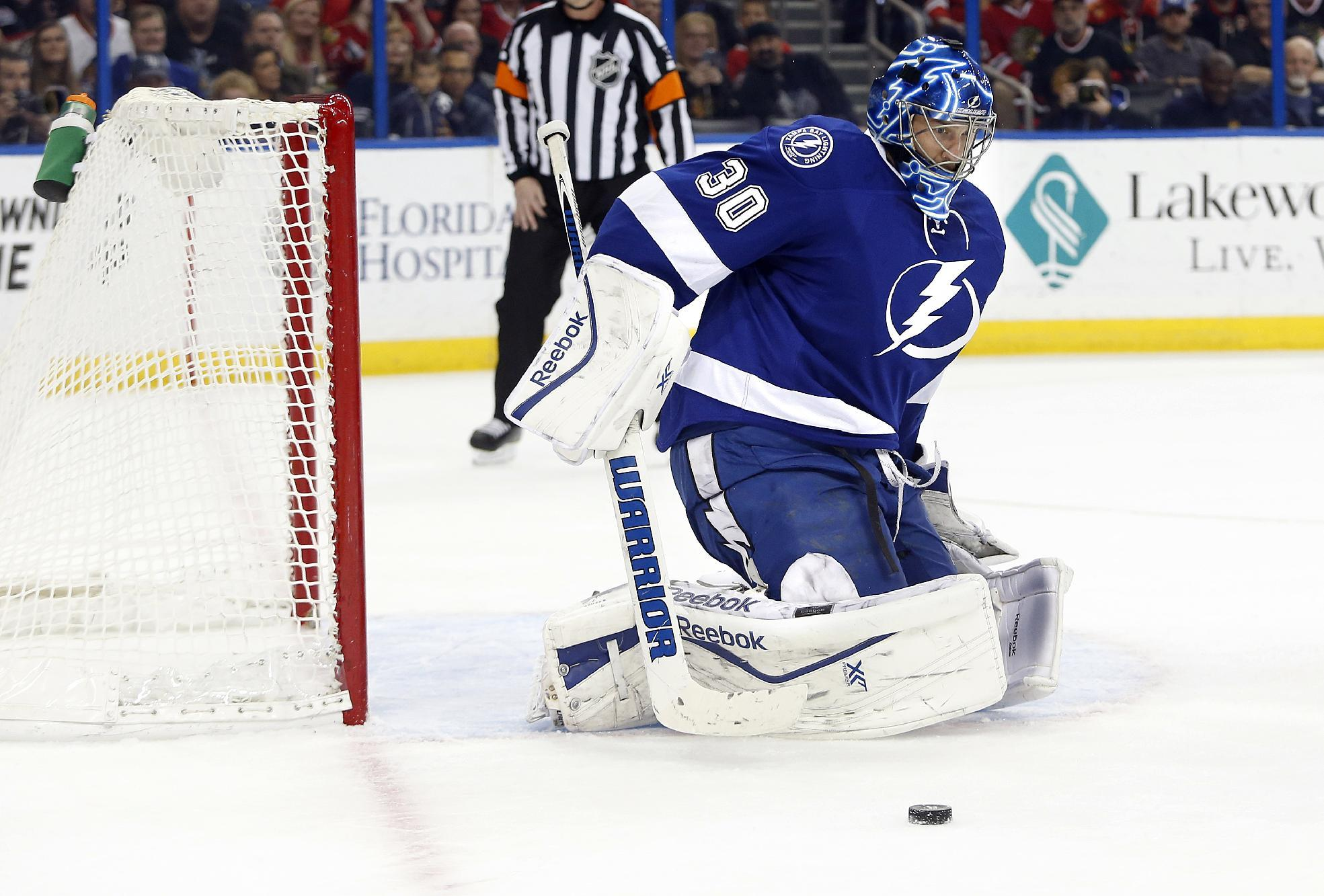 Bishop, Stamkos key Lightning's 4-0 win over Hawks