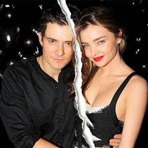 Miranda Kerr, Orlando Bloom Split After Three Years of Marriage