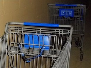 10. No matter which cart you grab at the grocery store, it will be the one with broken wheels.