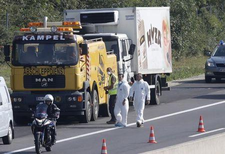 Austria raises refugee truck death toll to above 70