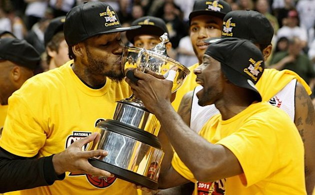 I think the Championship Trophy should be called_____________________ Gabe-Freeman-the-NBL-of-Canadas-first-MVP-kisses-the-championship-trophy-Dave-Chidley-The-Canadian-Press