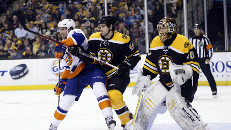 NHL: New York Islanders at Boston Bruins