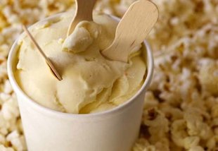 This popcorn gelato is sure to please both sweet and savory enthusiasts.