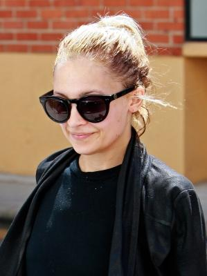Nicole Richie is spotted wearing sunglasses while leaving the the gym in Los Angeles on April 5, 2011 -- Getty Premium