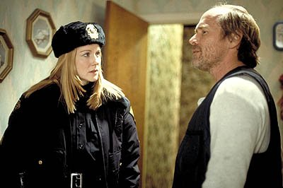Laura Linney and Will Patton in Screen Gems' The Mothman Prophecies
