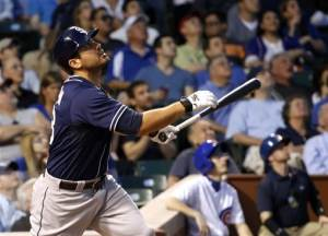 Quentin drives in 3 runs as Padres beat Cubs 13-7