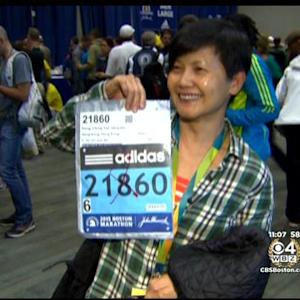 Runners Get Excited For Boston Marathon