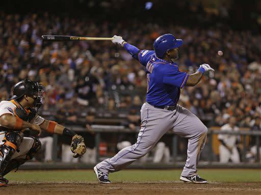 Byrd has slam in 8th, Mets beat Giants 10-6