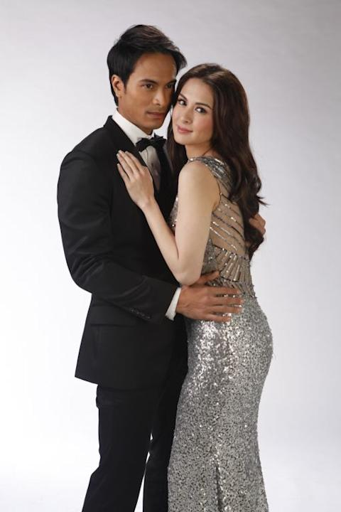 Rafael Rosell and Marian Rivera