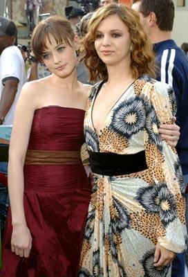 Alexis Bledel and Amber Tamblyn at the Hollywood premiere of Warner Bros. Pictures' The Sisterhood of the Traveling Pants
