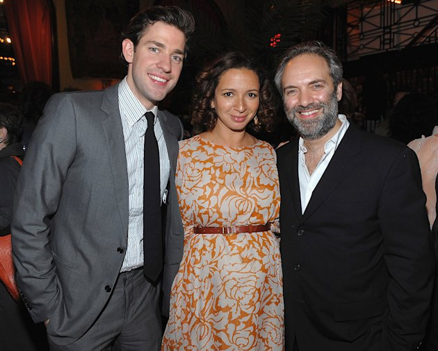 Away We Go NY Screening 2009 John Krasinski Maya Rudolph Sam Mendes