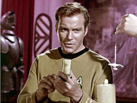 Captain Kirk Cell Phone