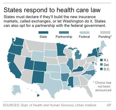 Obama's health care law advances in the states