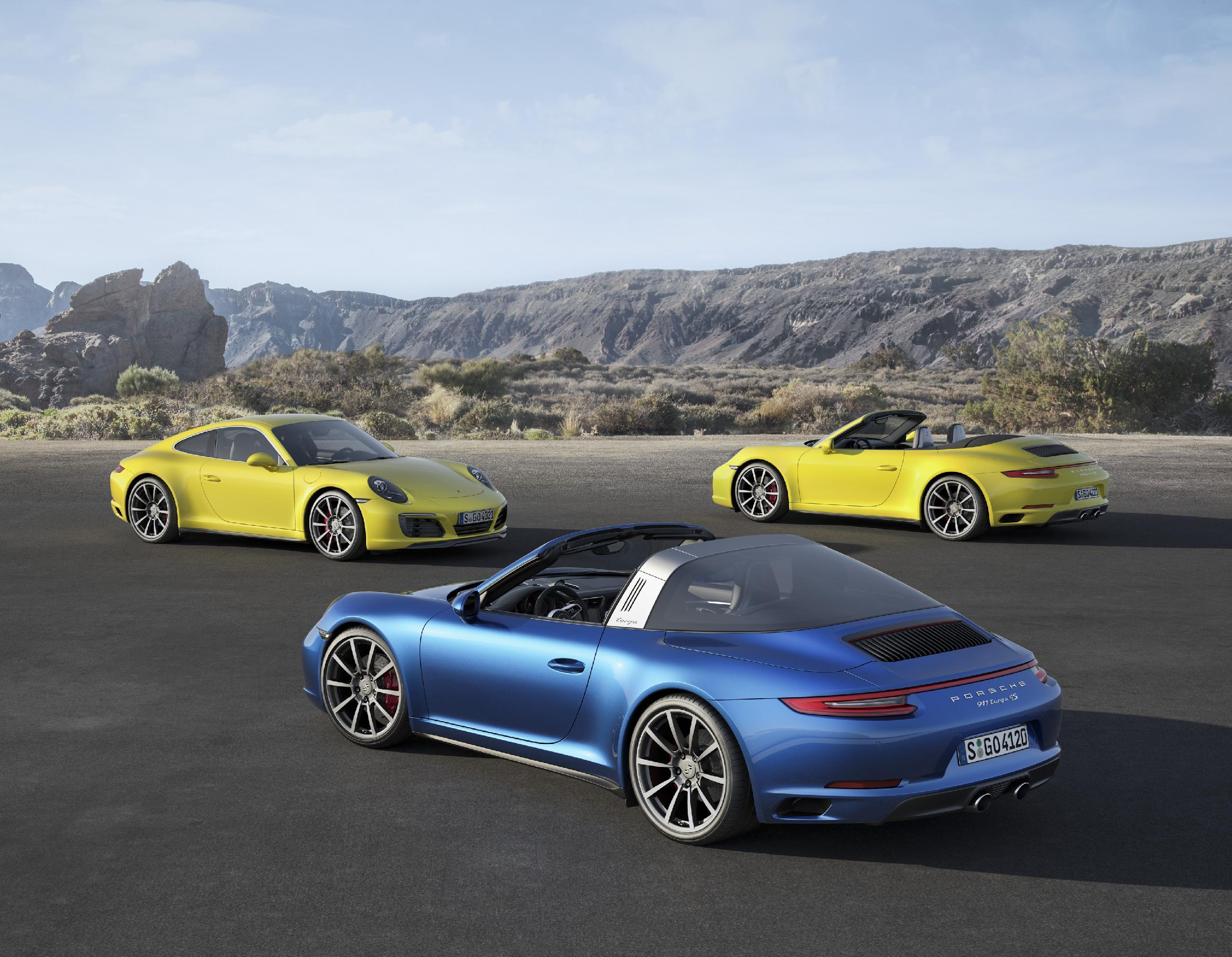 Porsche turbocharges ahead with new 911 models