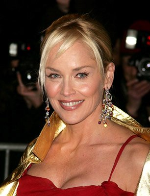 Sharon Stone at the NY premiere of Columbia/MGM's Basic Instinct 2