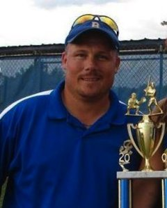 Beauregard softball coach Brandon Cobb — Beauregard High School