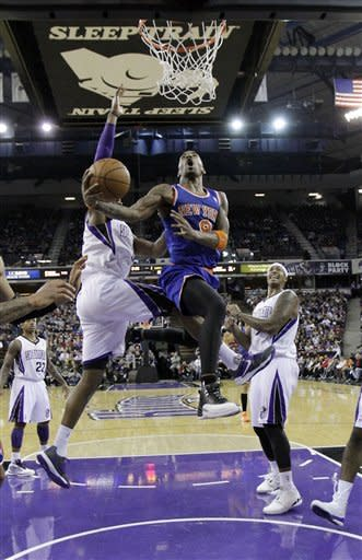 Johnson makes 3 at Buzzer, Kings beat Knicks