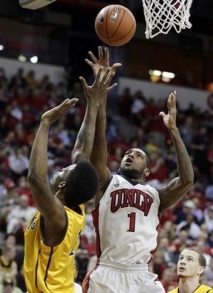 UNLV reserves lift Rebels past Wyoming 71-67