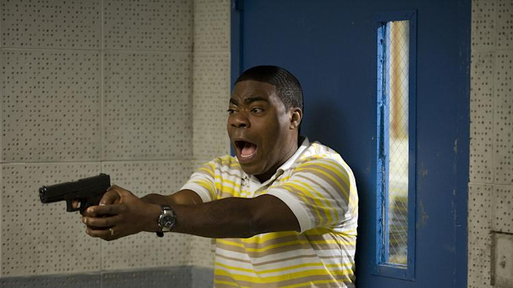 Cop Out Warner Bros Pictures 2010 Production Photos Tracy Morgan