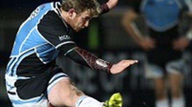 Scott Wight kicked two penalties for Glasgow but could not prevent the defeat