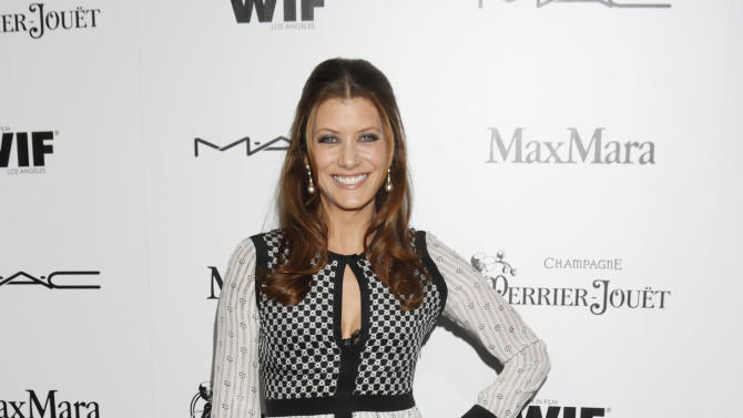 Kate Walsh attends the 6th Annual Women in Film Pre-Oscar cocktail party at Fig and Olive on Friday, Feb. 22, 2013 in Los Angeles. (Photo by Todd Williamson/Invision/AP)