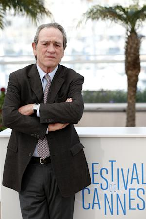 Director Tommy Lee Jones poses for photographers during a photo call for The Homesman at the 67th international film festival, Cannes, southern France, Sunday, May 18, 2014. (AP Photo/Alastair Grant)