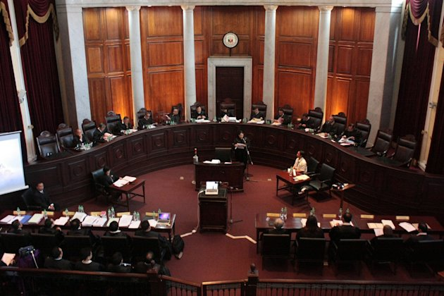 The Supreme Court on Jan. 15, 2013 begins hearing oral arguments on the Cybercrime Prevention Act of 2012, which had faced numerous petitions which claim that the law violates constitutionally guaranteed free speech. (Gregorio Dantes Jr, NPPA Images)