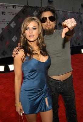 Carmen Electra and Dave Navarro MTV Video Music Awards - 8/28/2003