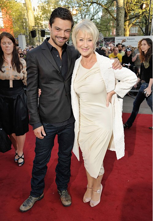 State of Play UK Premiere 2009 Dominic Cooper Helen Mirren