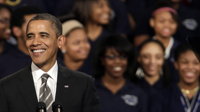 Obama: Growth vs. deficit reduction a false choice
